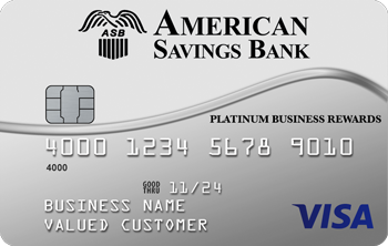 Visa® Platinum Business Rewards