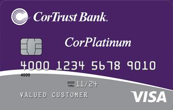 CorPlatinum Visa® Credit Card